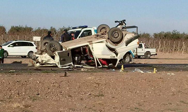 Accidente en San Roque