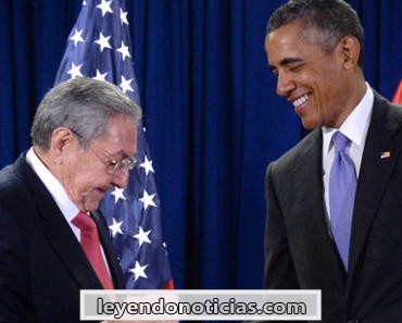 Barack Obama Raúl Castro