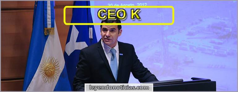 Miguel Galuccio CEO kirchnerista