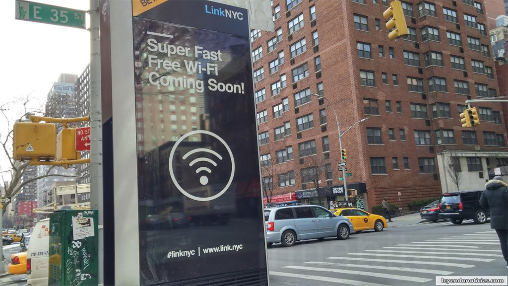 Wifi gratis en New York