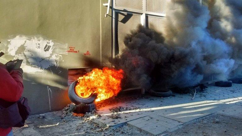 Santa Cruz disturbios