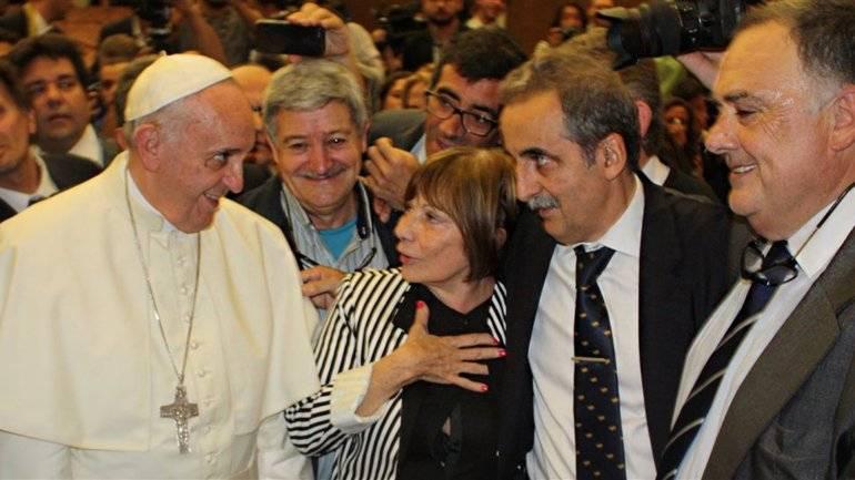 Papa peronista Daniel Scioli