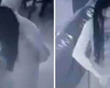 Video de empleada poseída