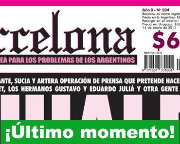 Juicio a la revista Barcelona