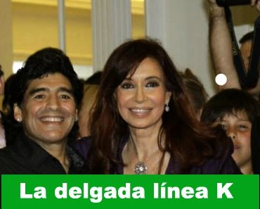 Diego Maradona cristinista