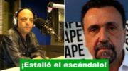 Pelea a piñas entre Baby Etchecopar y Roberto Navarro