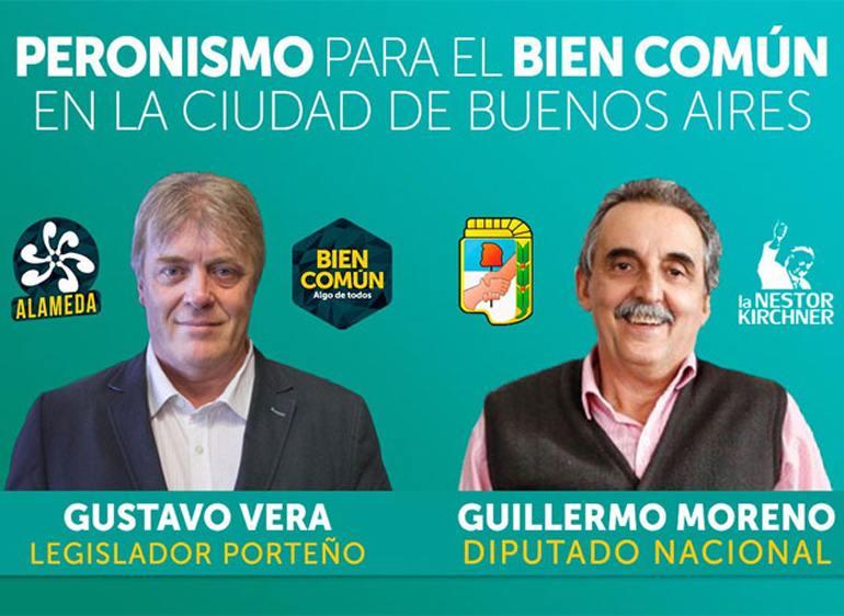 Gustavo Vera y Guillermo Moreno