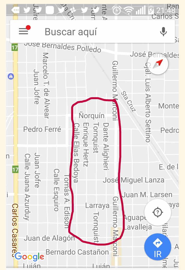 Estafa Plan Pavimentos Comunitarios