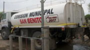 San Benito sin agua