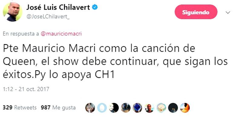 Chilavert Santiago Maldonado