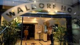 Hotel Waldorf Cristina Kirchner