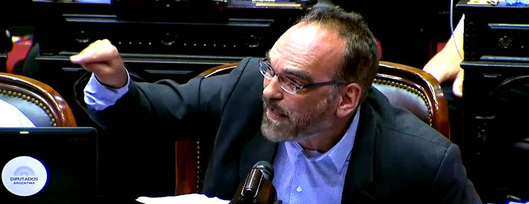 Discurso Fernando Iglesias en el Congreso
