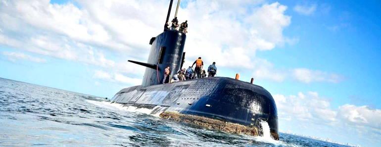 Submarino ARA San Juan ingleses