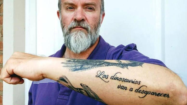 Sergio Maldonado tatuaje