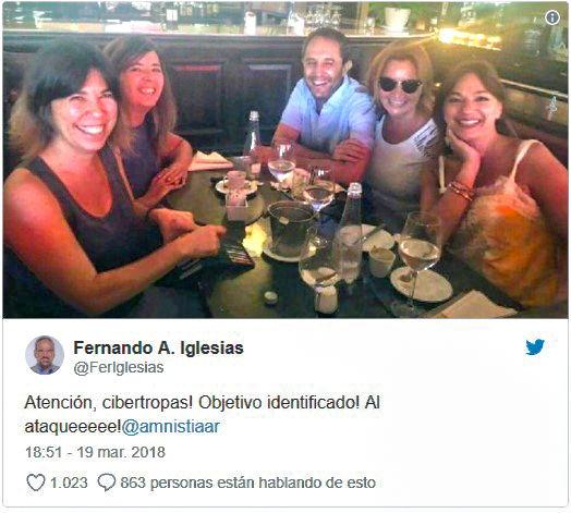 Fernando Iglesias - María O'Donnell - Amnistía Internacional