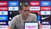 """Valverde: """"Estamos muy tocados, ha sido un palo durísimo, pero me siento con fuerza para seguir"""""""