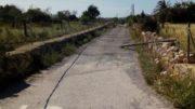 Cortada la carretera de Porto Cristo tras arrancar un camión parte del cableado eléctrico