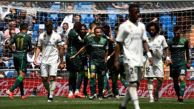 Nueva Verguenza del Real Madrid en la Liga