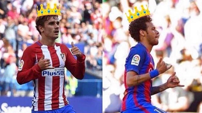 ¿A quién prefieres que fiche el Barça: Neymar o Griezmann?