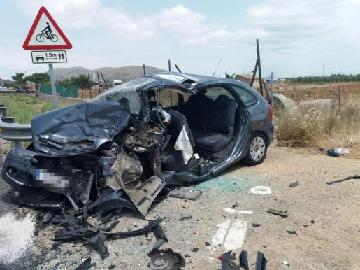 Un grave accidente colapsa la autopista de Inca