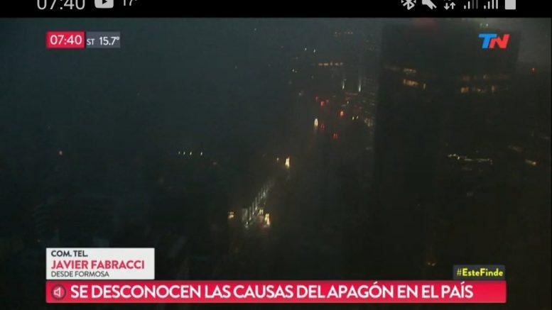 Un apagón generalizado deja sin luz a toda Argentina y Uruguay