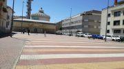UCIN ALBACETE reclama, soportes para aparcamiento de bicicletas en la biblioteca de SOL