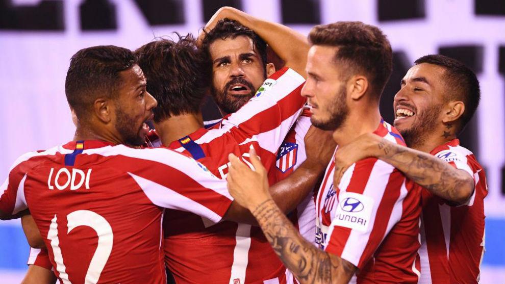 El Atletico da un repaso al Real Madrid por 3 a 7
