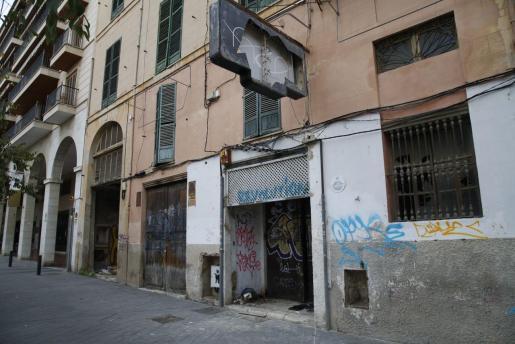 Detenido un hombre en Palma por quemar un edificio