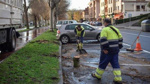 Fallece la mujer golpeada por la caída de una cornisa en Madrid