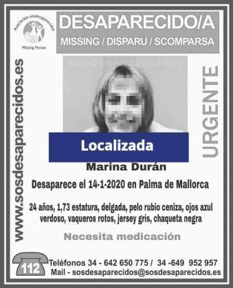 Localizada la joven desaparecida en Palma que estaba ingresada en Son Espases